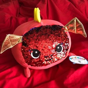 NWT Moosh Moosh dragon named Ash with sequins